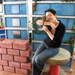 Olga à l'atelier au 3 rue des Maraîchers, 1205 Genève