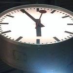 Zeit der Weiterfahrt in Olten. Ja 05:55 Uhr!