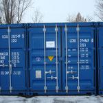 Dieses Jahr findet der Winterschlaf in Containern statt!
