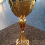 Pokal für den 1. Platz