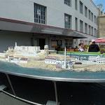 Modell von Alcatraz