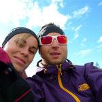21.00 Uhr in Österreich - dank Polartag so hell und sonnig wie bei uns um die Mittagszeit
