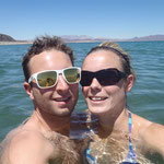 Erfrischung im Lake Mead
