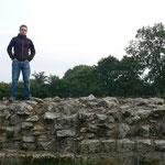 Hadrians wall - die historische Grenze von England und Schottland