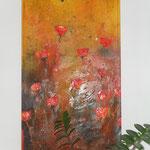 Fantasieblüten-Orange; 120x65