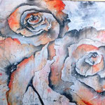 dancing flowers II, 110x170