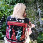 "Jeansjacke schwarz, Modell 21, ""wild & free"""