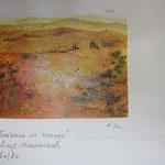 Toskana in Orange; 90x80