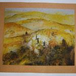 Tuscany I; 100x80