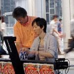 スギタくんと秋山さんのツインピアノ!