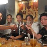 アキヤマさんとムラバンのプチ打ち上げ100829