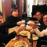 ミヤオカチトシさんとプチ打ち上げ110108