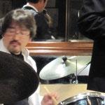 ドラムのゴンタさん