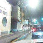 朝から晩まですごい雨とすごい風。傘もこわれるくらいでした。