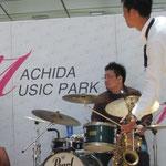 ムラバン町田ミュージックパークでライブ100509-01