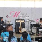 町田ミュージックパークJazzフェスティバル加治and佐山さん100718
