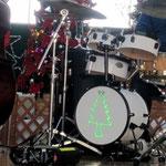 ツユキ君のドラムもクリスマスイルミネーション101128