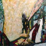 De l'ombre naît la lumière, 2013, papier chinois, 28x37 cm