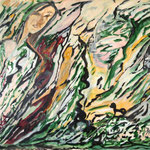 Jazz dans le vent, 2010, papier toilé FIGUERAS