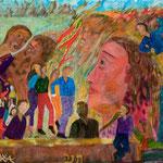 Belle rouge, 2009, papier enduit, 21x29,5 cm