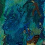 La note bleue, 10x12,5 cm