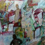 Hommage à Soutine, 2013, papier chinois, 28x37 cm