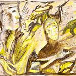 Antagonisme, 2009, papier toilé FIGUERAS