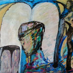 Interrogations, 2013, papier chinois, 28x37 cm