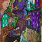 Méditations, 2008, miniature, 10,5x15,3 cm