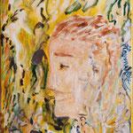 Patience ocre, 2010, toile sur châssis, 27x35 cm