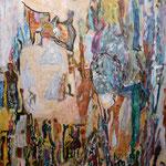 Révolte des tentes, 2013, toile sur châssis, 65x50 cm