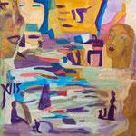 Paysage, 2009, toile sur châssis, 50X60 cm
