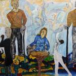 Trilogie, 2013, papier ARCHES, 30x65 cm