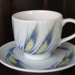 麦文コーヒー碗皿