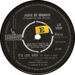 What the World Needs Now is Love/It's Love Baby Liberty LIB 10202 1965