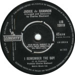A Lifetime of Loneliness/I Remember the Boy Liberty LIB 12019 1965