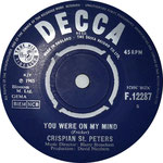 You Were on My Mind/What I'm Gonna Be Decca F 12287 1965 side A
