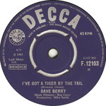 Little Things/I've Got a Tiger by the Tail Decca F 12103 1965