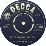The Pied Piper/Sweet Dawn, My True Love Decca F 12359 1966 side B