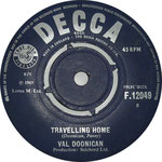 The Special Years/Travelling Home Decca F 12049 1965