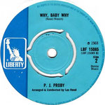 What's Wrong With My World/Why Baby Why Liberty LIB 15085 1968