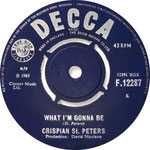 You Were on My Mind/What I'm Gonna Be Decca F 12287 1965 side B