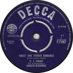 Together/Sweet and Tender Romance Decca F 11967 1966