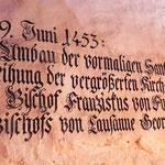 Inschrift 1453