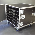 flight case ridebox avec porte