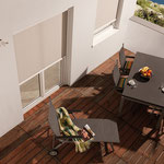 Fassadenmarkise Zipline mit Reißverschlussystem bei Alucolor in Wien