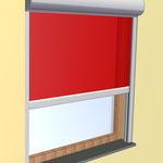 Fassadenmarkise Zipline mit Reißverschlussystem - in allen RAL-Farben erhältlich - bei Alucolor in Wien,
