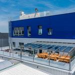 Glasdachsystem Terrado von STOBAG