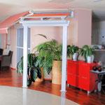 Glasdachsystem Miranda-Vetro P7000 für Eingangsüberdachung