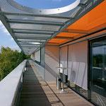 Fassadenmarkise Novoline
